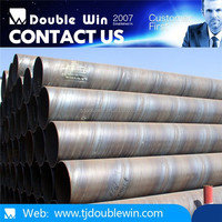 """DIN 2448 Oil and Gas Large Size Spiral Steel Pipes/Tubes 1/2""""-70"""" sch40 ST32.7/54.8"""