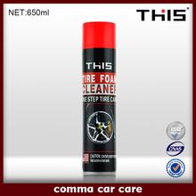 650ml MSDS Tyre Foam Cleaner
