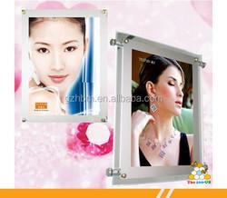 LED Lights/crystal frame,wholesale slim crystal photo frame, led crystal light frame,