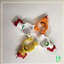Aves de corral automática precio competitivo y alta calidad pollo plástico de bebederos automáticos