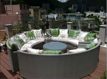 outdoor new design rattan sofa