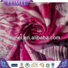 2015 New Design Burnout Silk Velvet Printed Fabrics in China Manufacturers