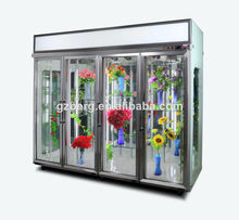 Florist's shop display refrigerated shelf / flower display cooler