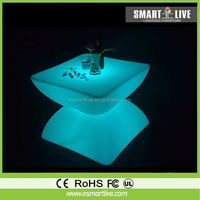 new design hot sale LED bar table and chairs modern LED furniture LGL5656-2