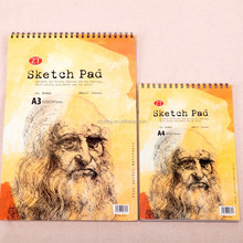 A3/ A4 high quality sketch pad drawing book