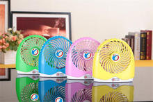 2015 Fashion Plastic USB Table Fan Small Exhaust Fans for Outdoor Activities As Camping