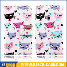 Cheap price fancy custom design stand flip leather case cover for nokia lumia 520