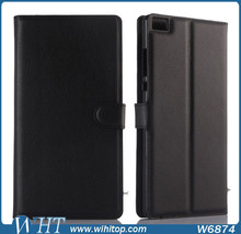 for Huawei P8 Max Leather Case Luxury Wallet Phone Accessories