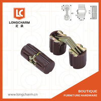 furniture Nylon barrel folding vertical cabinet hinge