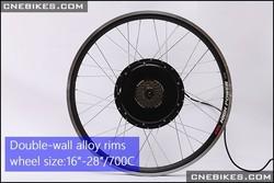 ebike kit 36v 350w front or rear hub motor conversion diy electric bicycle kit