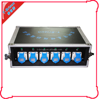 32 amp 3 phase link in link out power distro