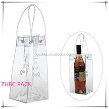 wine use plastic pvc cooler ice packaging bags