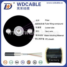 Fiber Optic Cable Making Equipment GYXY Unitube Non-armored 6 Optical Fiber Cable