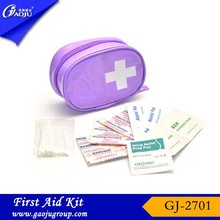 With CE FDA Certificate convenient carry 2013 mini home basic first aid kits