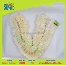 top 10 hot sale thick knitted scarves in good quality china factory supply