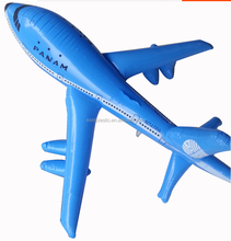 Three Color Assorted Cuatom Inflatable Airplane For Sale