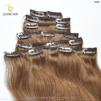 2015 Best selling wholesale!!! no shedding remy full cuticle tangle free sex clip a woman in mainland