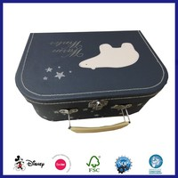 Chinese Cardboard Craft Cosmetic Makeup Suitcase