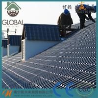 Plastic synthetic palm leaf roofing with CE certificate