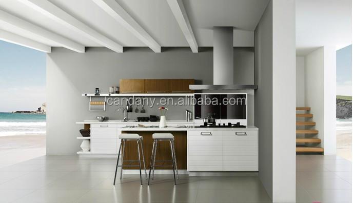 Open stijl multiplex keukenkasten, keuken kamer meubels keuken ...
