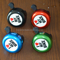 Hebei Cangzhou custom I love my bike bike bell / specified logo/cheap bike parts/handle bell