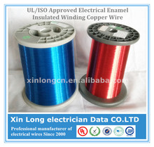 UL/ISO Approved Electrical Enamel Insulated Winding Copper Wire