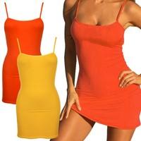 New Fashion Lady Women Sling Backless very very short mini dresses SV016741