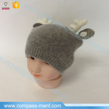 Baby Winter Christmas Knit Horn Hat