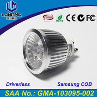 Langma LED Energy Saving Decoration Household Light Bulb Gu10 110-240v Warm White 6w driverless dimmable GU10 spot light led