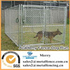 with roof outdoor chain link dog kennel enclosure fence