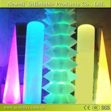 Many Size new style inflatable entrance pillars With OEM logo