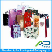 2015 Factory direct sale high quality luxury paper gift bag