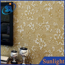 European embossed non-woven wallpaper classic interior luxury wallpaper