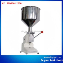 Manual bottle filler A03 fruit juice filling machine