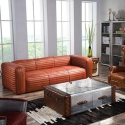 Diva Outback Bridle Vintage Leather Sofa for Sale