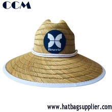 The Shores Lifeguard Straw Sun Hat - Unisex