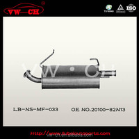 Rear js racing exhaust muffler Manufacture