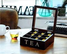 Hot Selling Wholesale wooden tea box