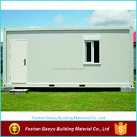 low cost container house in prefab house