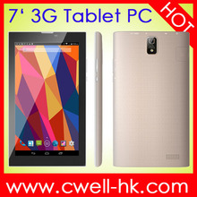PC tablet 7 Inch Dual SIM MTK8312 Dual Core Android 4.4 Forfun A8 3G can make Phone call, rugged tablet, kids tablet