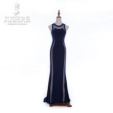 New Arrival V-neck Cap Sleeve Velvet Evening Dress Summer Evening Dresses Evening Dress 2015