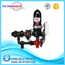 Automatic back-flushing industrial water filtration system