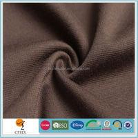 polyester spandex dyeing ponti roma fabric