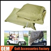 Wholesale 4 Passenger Golf Cart Cover Fits EZ GO, Club Car, Taupe