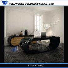 Top quality!Waterproof hot sales modern melamine office desk with storage