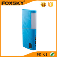 2015 Shenzhen factory Customized solar power bank Logo for LCD Screen power bank for smartphone