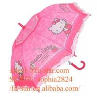 FS outdoor umbrella sun rain umbrella parasols novel cartoon GustBuster Metro 43-Inch Automatic Umbrella