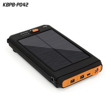 19V Portable USB Power Bank 12000mAh Emergency Solar Charger for Laptop