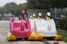 Hot sale Amusement water park pedalo boat for adults and kids