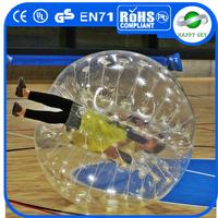 Hot sale CE certificate PVC/TPU inflatable ball suit, bubble ball soccer, bubble ball suit